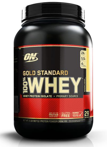 Gold Standard 100% Whey (29 Servings, 2lb)