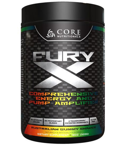 Fury X (20 servings, 505 grams)