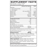 Blackmarket Bulk 2.0 Supplement Facts