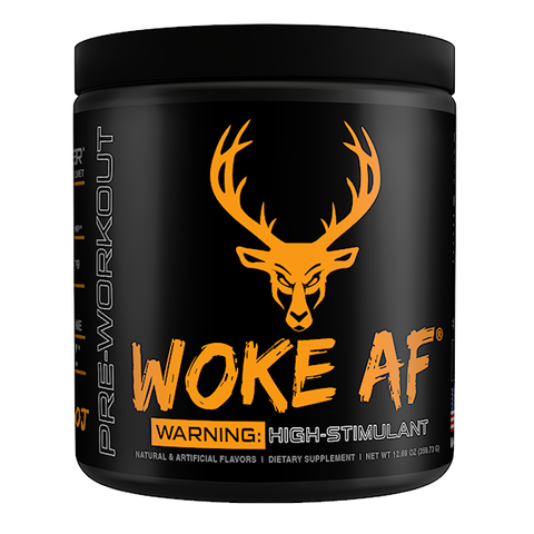 Woke AF: High Stimulant Pre-Workout