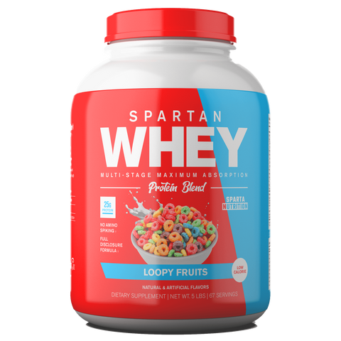 Spartan Whey Protein Blend (67 Servings, 5lbs)