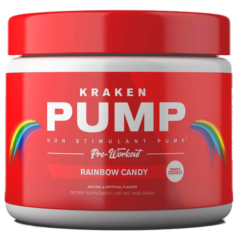 Kraken Pump Stim-Free Pre-Workout (40 Servings, 320g)
