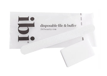 Disposable White Small File & White Medium Buffer set