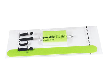Disposable green large file & medium buffer set