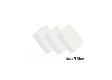 Disposable white mini buffer
