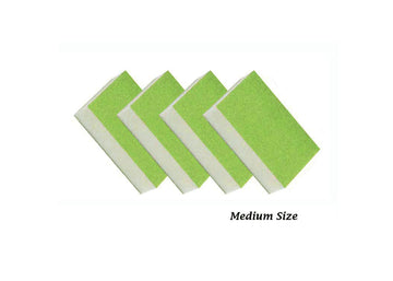 Disposable green medium slim buffer