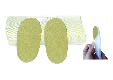 Disposable green foot file pad for heavy callus (Grit# 60)