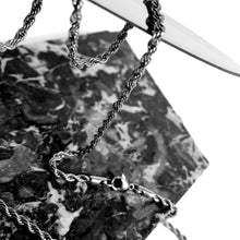 ICED OUT BROKEN HEART WHITE GOLD MIT ROPE CHAIN - ICED DRIP JEWELRY - jetzt kaufen!