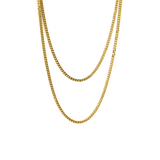 3MM MIAMI CUBAN CHAIN [WHITE | YELLOW] GOLD - ICED DRIP JEWELRY