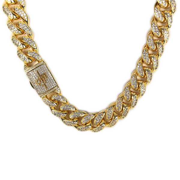 20MM MIAMI CUBAN LINK CHAIN [WHITE | YELLOW] GOLD - ICED DRIP JEWELRY