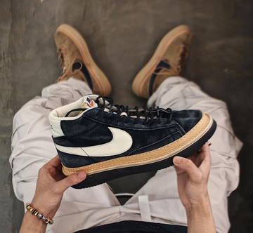 Peterson Stoop Straight Nike Blazer - Black / Black Vibram