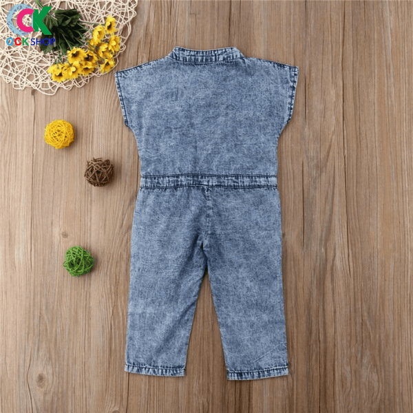 KIMBERLY DIAMONDS JUMPSUIT OVERALLS V-NECK