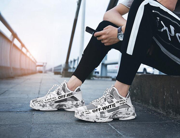ELGER TM WILL OFF WHITE SNEAKERS