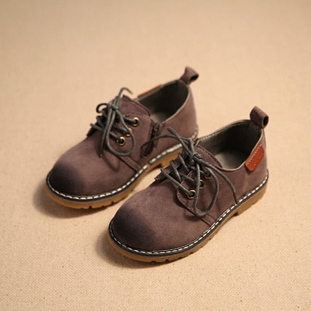 TOM TIDE LEATHER SHOES - KIDS