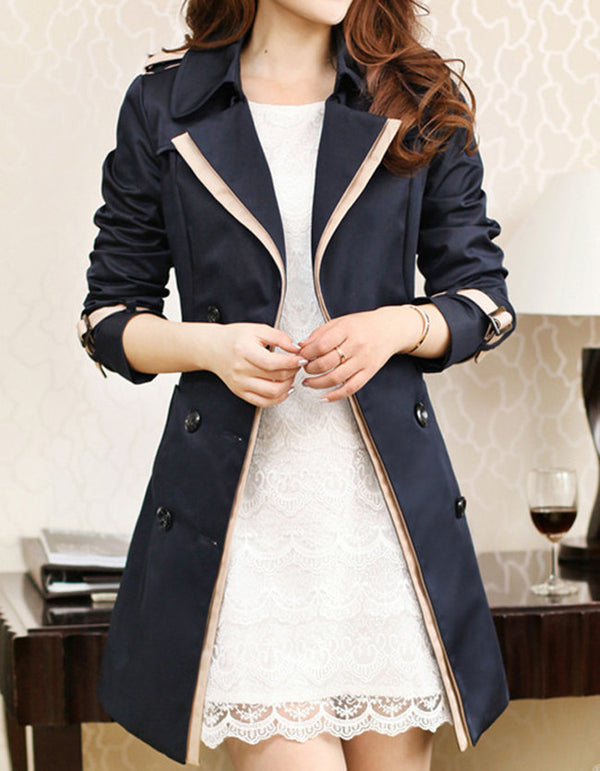 Tessa Double Breasted Trench coat