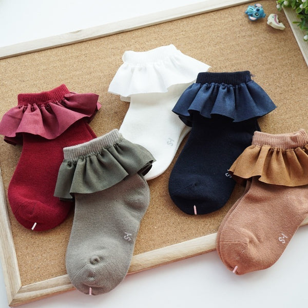 BELLE RUFFLE SOCKS KIDS