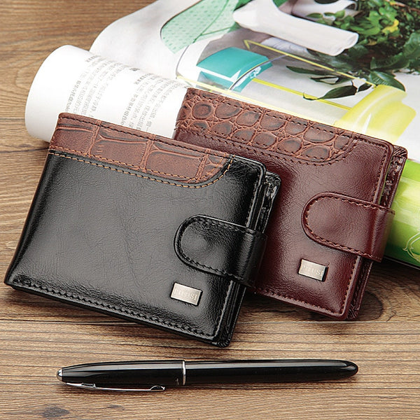 Baellerry Hampshire Leather Bifold Wallet