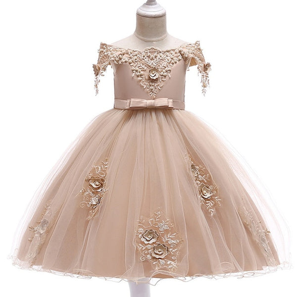 SUMMER FLOWER GIRL DRESSES - KIDS
