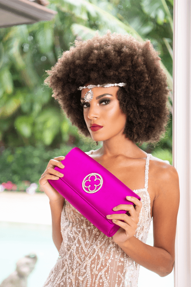 Hot Pink Clutch MainImage