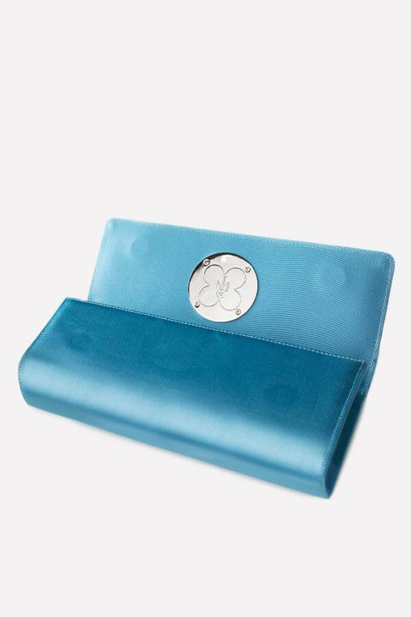 Something Blue Clutch - Interior