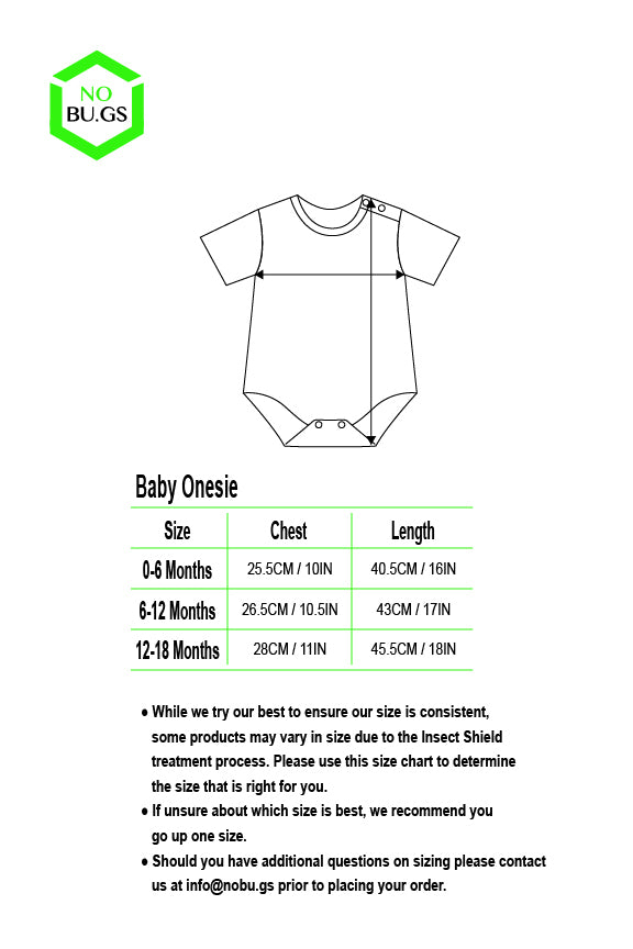 NoBu.gs® Insect Repellent Onesie