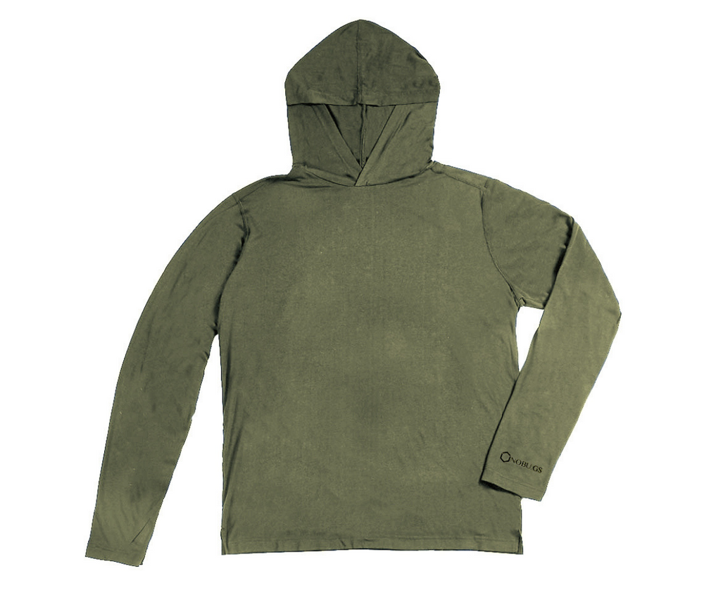 NoBu.gs® Insect Repellent Men's Hoodie