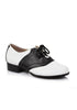 1 Heel Women Saddle Shoe.