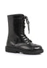 1 Ankle Women's Combat Boot with Laces.