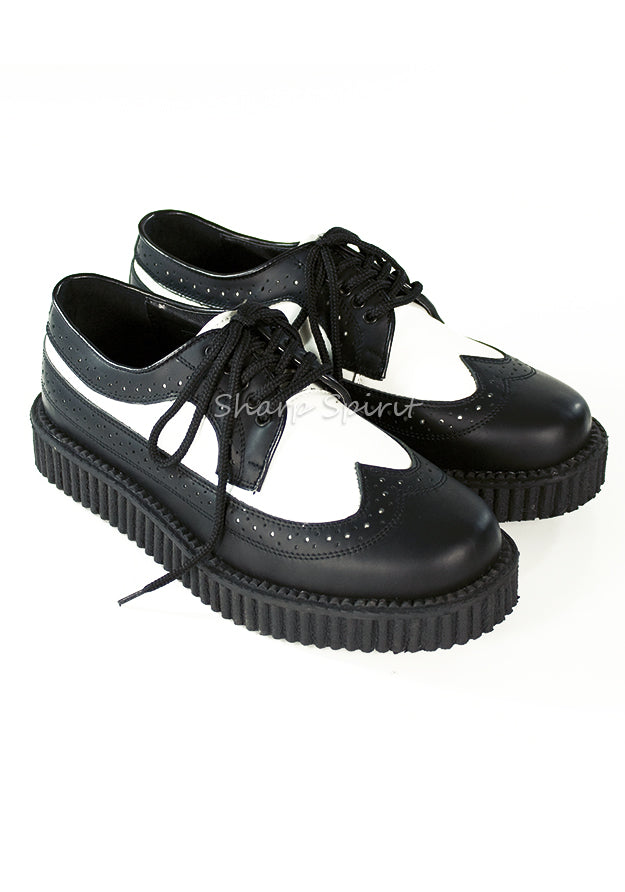 1920s Men's Gangster Creeper Shoes