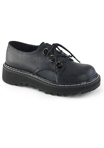 3 Eyelet Oxford Platform Womens Shoes