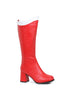 3 Knee High Boot With Zipper. Womens