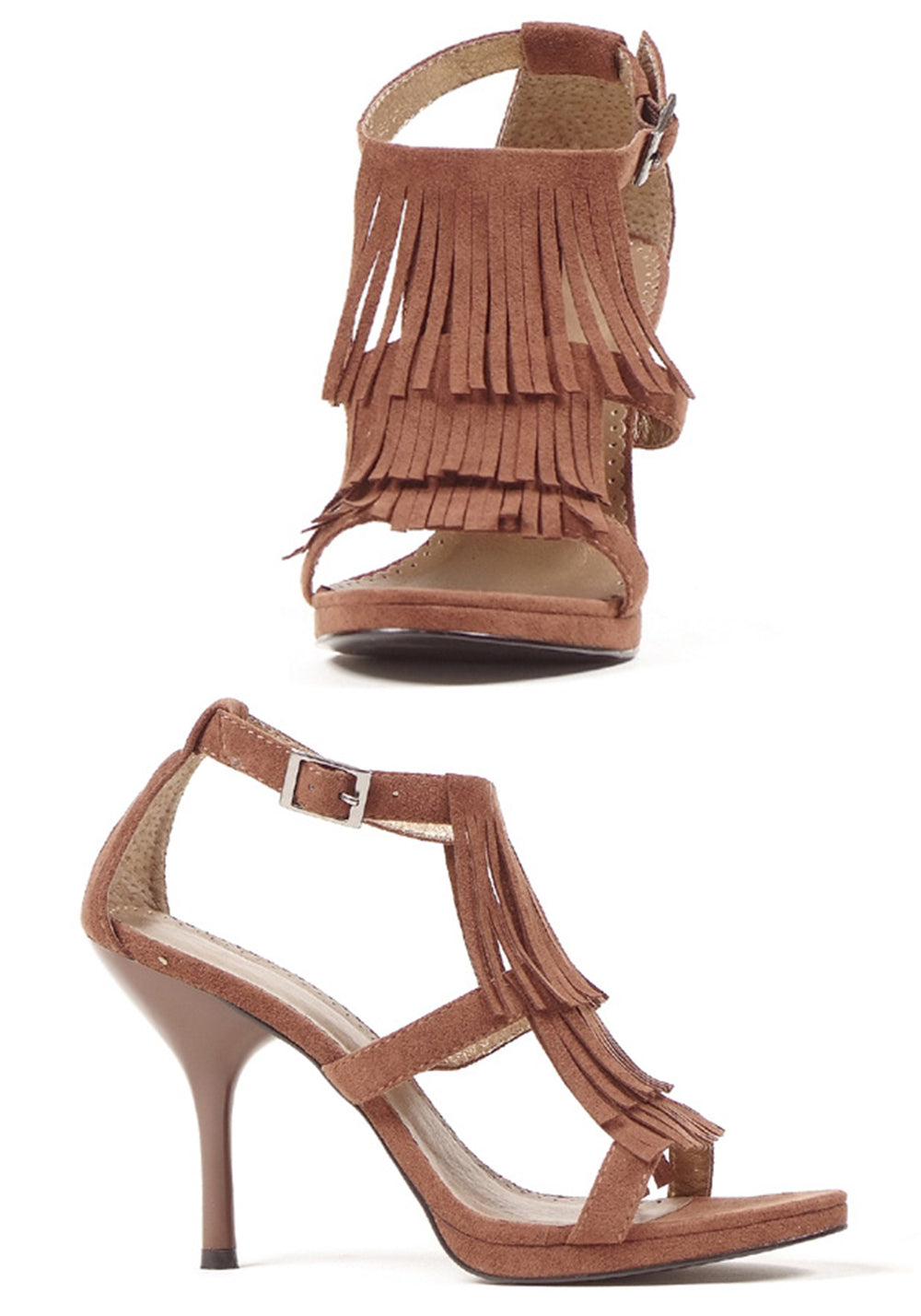 Fringe Open Toe Sandals