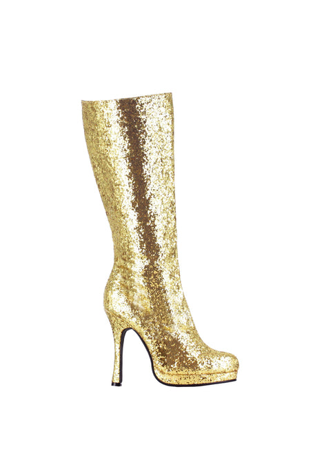 4 Knee-High Boot with Glitter. Womens.