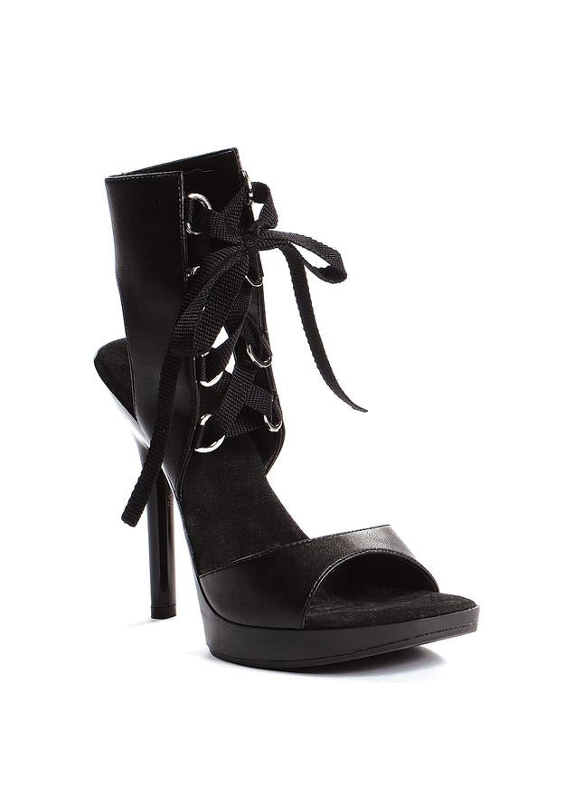 5 Heel Ankle High Sandal.