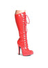 5.5 Heel Knee Boot W/Inner Zipper.