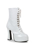 5.5 Heel Ankle Boot W/Inner Zipper.