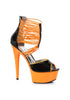 6 Neon Stiletto With Elastic Bandd