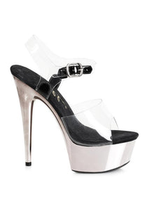 6 HEEL POINTED STILETTO SANDAL