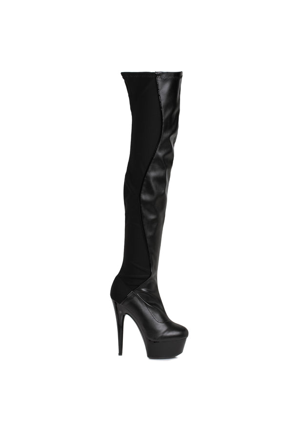 6 Thigh High Boot