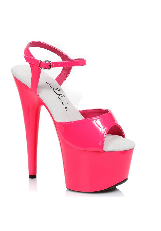 7 Neon Stiletto Sandal.