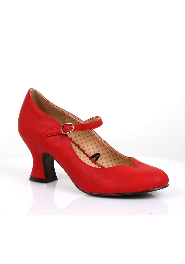 2.5 Inch closed toed basic heel