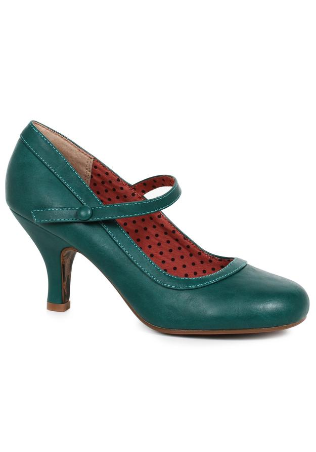 3 Retro Mary Jane Heel