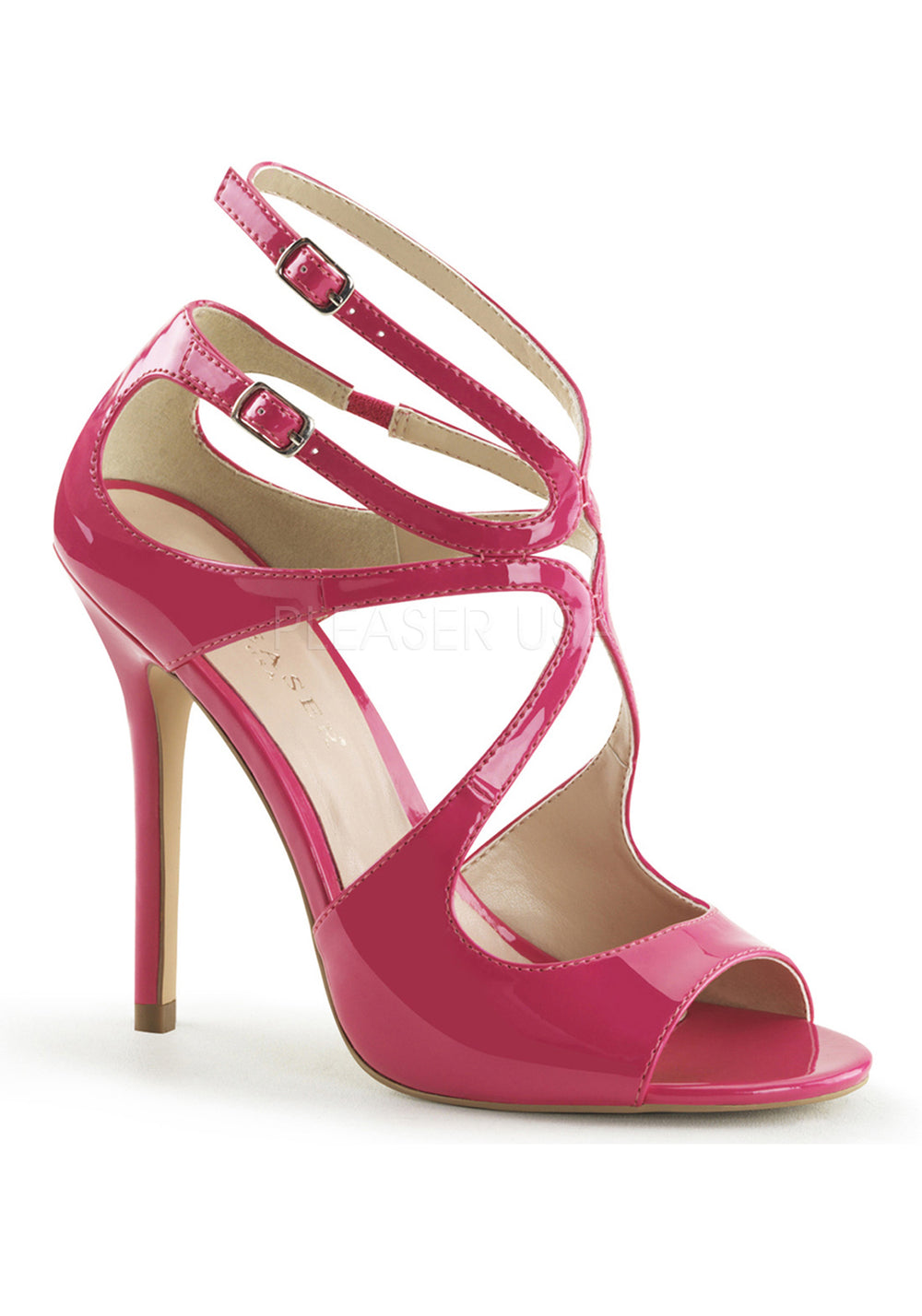 Classy & Sassy Pink Cutout Sandals