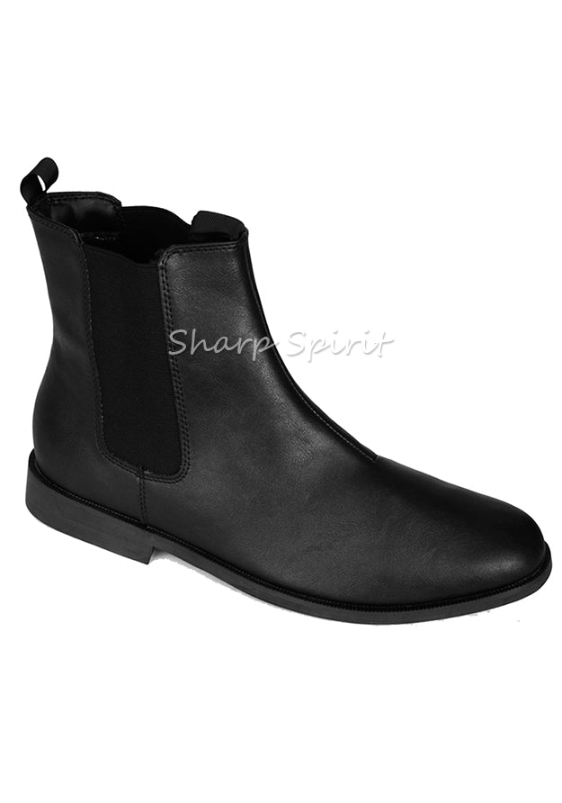 Ankle High Black Beatle Boots