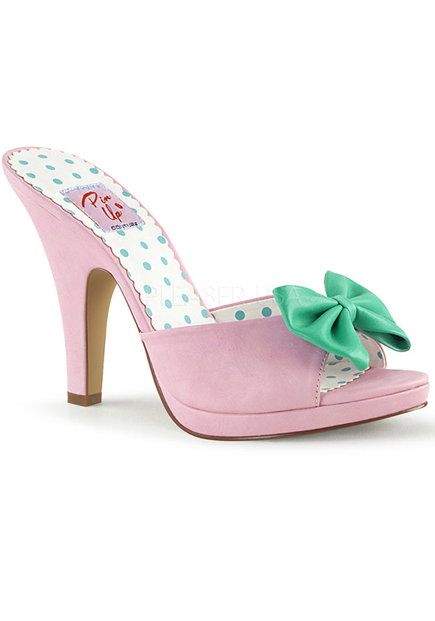 Baby Pink & Green Fairy Tale Sandals