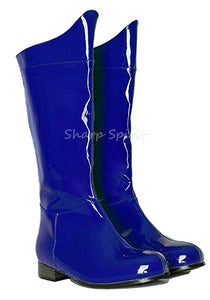 Blue Men's Comic SuperHero Boots