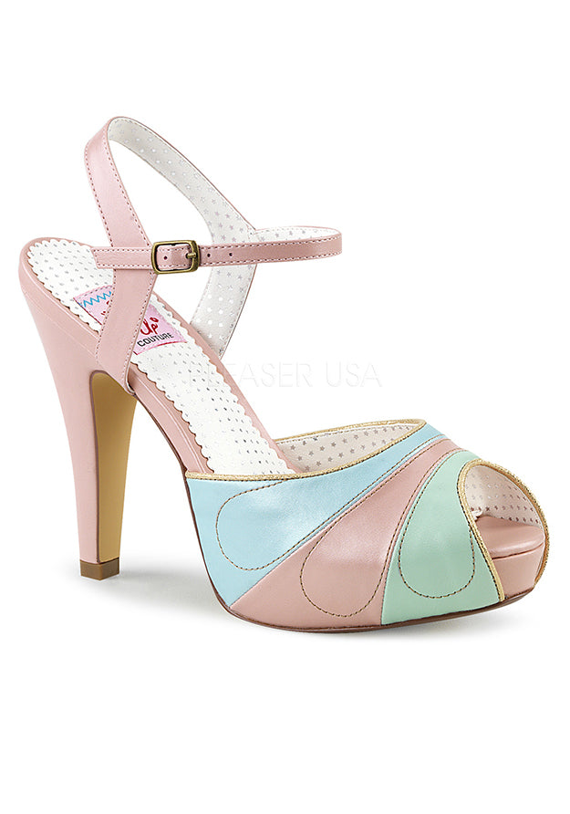 Candy Lane Peep Toe Sandals