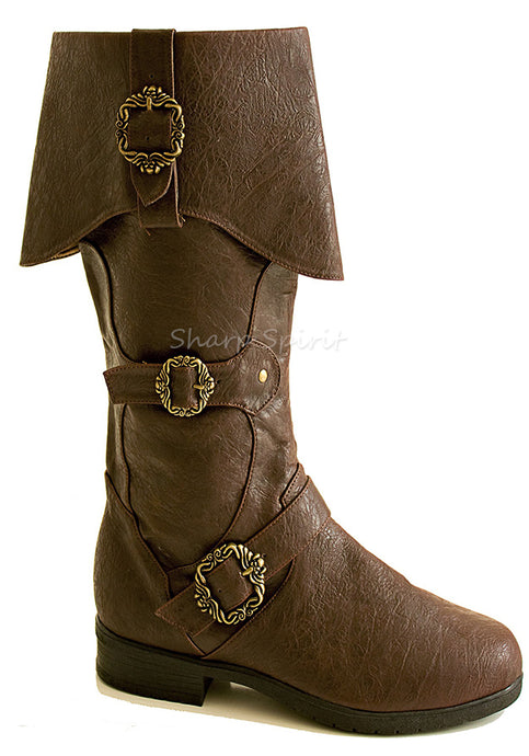 Captain Sparrow Knee High Boots