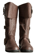 Load image into Gallery viewer, Captain Sparrow Knee High Boots
