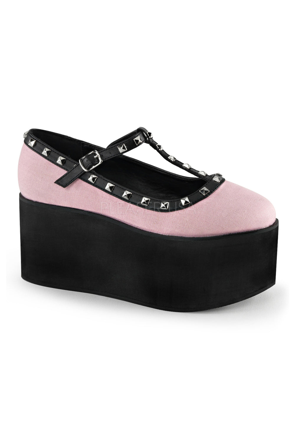 Vintage Pink Mary Jane Platforms